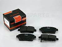 Колодки тормозные передние Toyota Yaris / Geely МK с датчиком износа