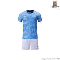 Футбольная форма Europaw 027 голубо-белая