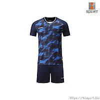 Футбольна форма Europaw 027 т. синьо-синя, фото 1