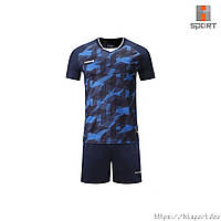 Футбольная форма Europaw 027 т.сине-синяя, фото 1