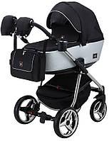 Детская универсальная коляска 2 в 1 Adamex Barcelona Polar (Chrome) BR615, фото 1