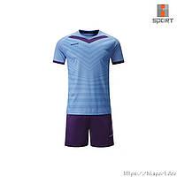 Футбольная форма Europaw 026 голубо-фиолетовая, фото 1