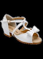 Туфли для бальных танцев с перемычками