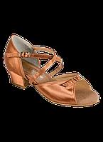 Туфли для бальных танцев с пряжкой