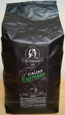"""Кофе в зернах """"De Francesco Espresso"""", 1кг, фото 3"""