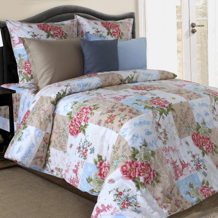 Комплект постельного белья от украинского производителя поплин Хоккайдо
