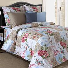 Комплект постельного белья от украинского производителя поплин Хоккайдо Семейный