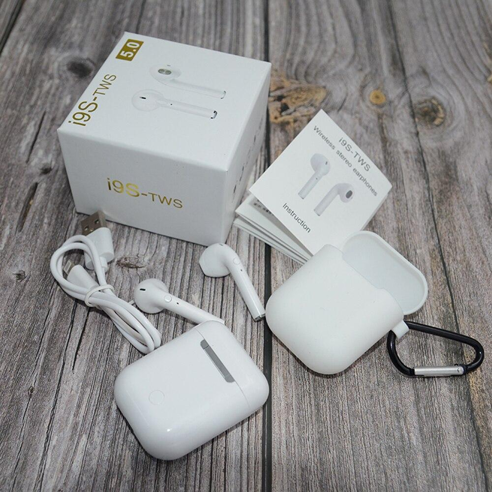 Беспроводные Bluetooth наушники I9S-TWS V5,0 TWS Auto-con 3 поколение White