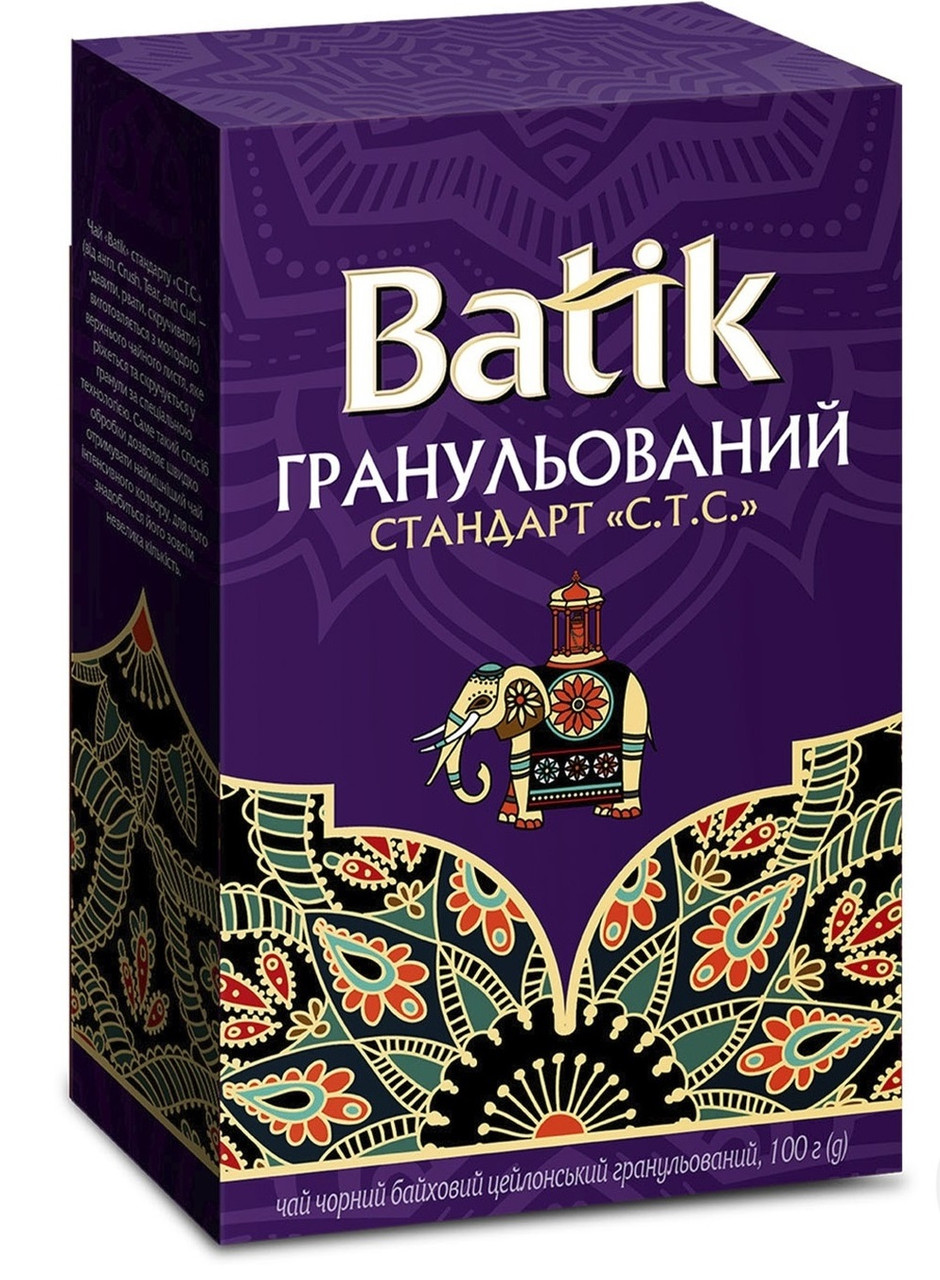 Batik чай чорний гранульований СТС 100 грам