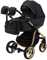 Дитяча універсальна коляска 2 в 1 Adamex Barcelona Polar (Pink Gold) BR408