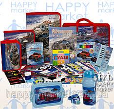 Набір шкільний подарунок першокласнику Kidis 19 предмета Джип 7-5