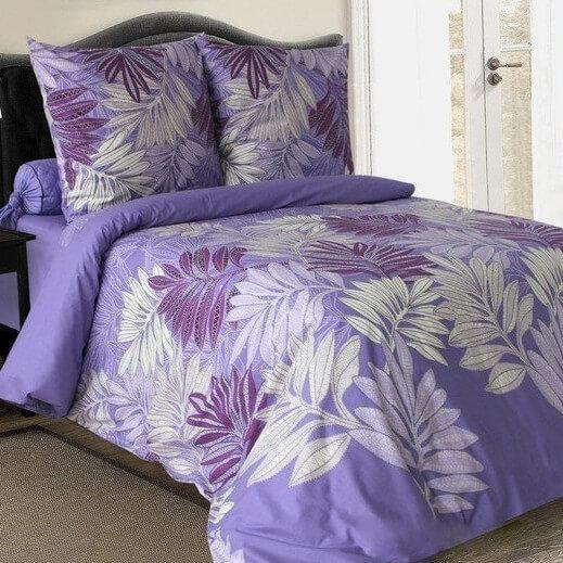 Комплект постельного белья от украинского производителя поплин Пальмира Семейный