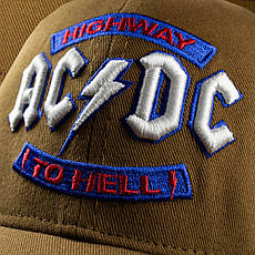 Бейсболка AC/DC Highway To Hell 3D вышивка, фото 3
