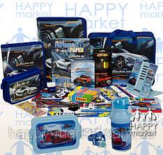 Набір шкільний подарунок першокласнику Kidis 19 предмета Машина 7-8