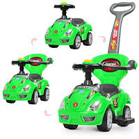 Детская машинка каталка толокар Bambi M 4205-5 зеленый, фото 1