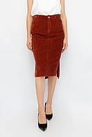 Женская юбка Dilvin терракотовый цвет