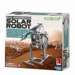 Детский игровой набор для творчества 4M Робот на солнечной батарее