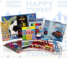 Набір шкільний подарунок першокласнику 11 предметів для хлопчика 9-2