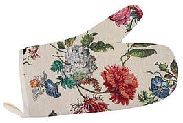 Прихватка-рукавица LiMaSo Цветы 17*30 см гобеленовая арт.EDEN707-RK.17х30