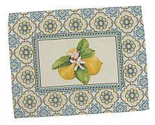 Салфетка-подкладка для кухни LiMaSo Лимоны 37*49 см гобеленовая арт.LIMA009-49.37х49