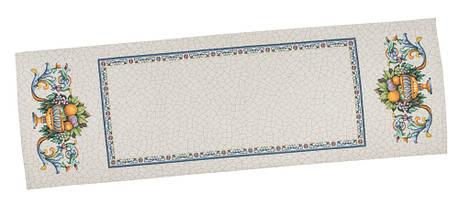 Скатертина-доріжка LiMaSo Фрукти в заві 37*100 см гобеленова арт.RUNNER LIMA021-37.37х100, фото 2