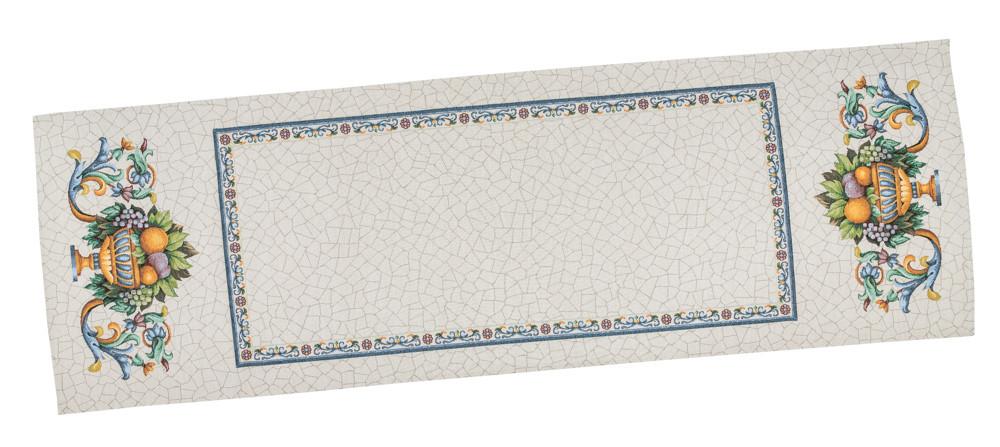 Скатертина-доріжка LiMaSo Фрукти в заві 45*140 см гобеленова арт.RUNNER LIMA021-45.45х140