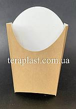 "Упаковка для картофеля фри ""Миди"" 120х143 (Крафт)"