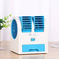РАСПРОДАЖА!!! Мини кондиционер Conditioning Air Cooler USB Electric Mini Fan (Air Fan-green)