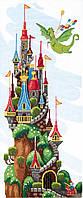Набор для вышивания крестом Сказочный замок (ВТ-247)