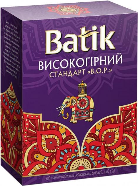 Розсипний чай Batik Високогірний цейлонський чорний 250 грам
