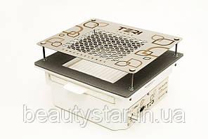 Манікюрна врізна витяжка Teri Turbo вбудована в стіл манікюрна витяжка з HEPA фільтром
