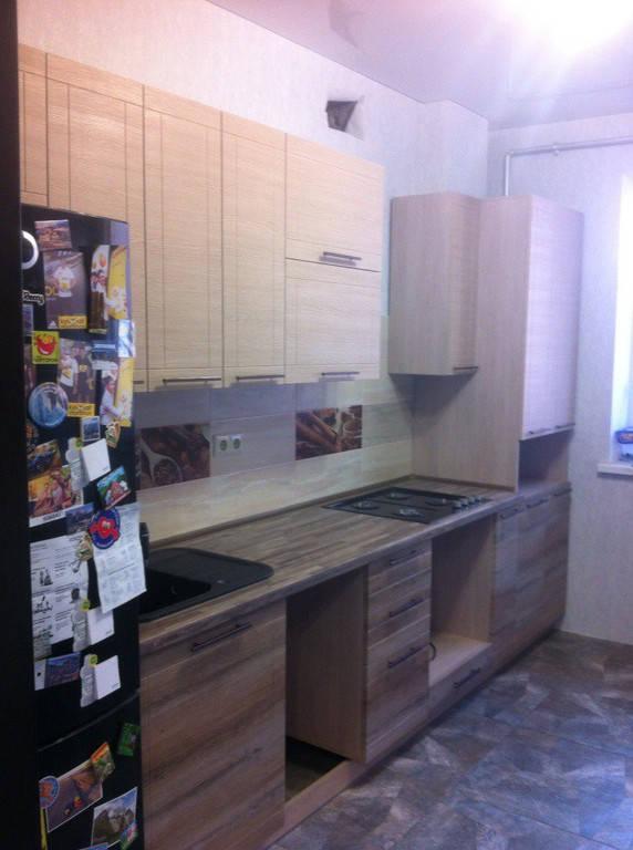 Кухня с фасадами МДФ с фрезеровкой