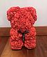 Мишка из искусственных роз 25 см (6 цветов), фото 8