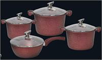 Набор посуды с крышками Benson BN-334