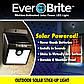 """Уличный LED Светильник на солнечных батареях с датчиком движения """"EverBrite"""". Эвэр  брайт. Ever Brite, фото 6"""