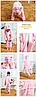 Пижама костюм кигуруми свинка, фото 3