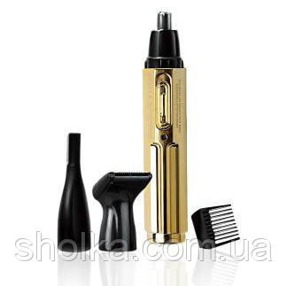 Гигиенический триммер 3 в 1 для носа,бороды и ушей Rozia HD-102A