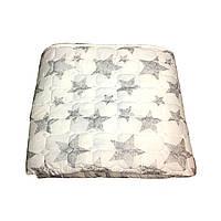 Летнее одеяло покрывало полуторка однотонное Бамбук, 145/205, ткань фибра