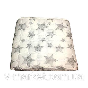 Літній ковдру покривало двоспальне однотонне Бамбук, 175/205, бамбук, тканина микрофибрафибра