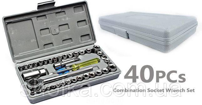 РАСПРОДАЖА!!! Набор инструментов AIWA 40pcs в чемоданчике