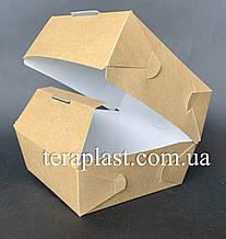 """Коробка для бургеров, сендвичей """"Макси"""" 120х120х95 мм (Крафт)"""