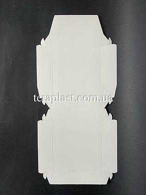 """Коробка для бургеров, сендвичей """"Миди"""" 110х110х65 мм (Белая), фото 2"""