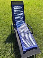 Большой Коврик массажный Аппликатор Кузнецова (акупунктурный массажер для спины и ног) 170х40 см (MS-1273)