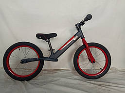 Велосипед детский беговел 16 дюймов надувные колеса JK-07