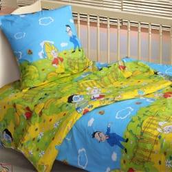 Дитяче постільна білизна від українського виробника бязь Незнайко