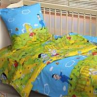 Детское постельное белье от украинского производителя бязь Незнайка