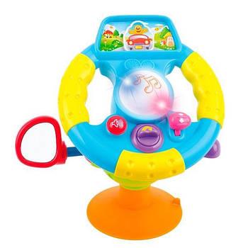 Игрушка для ребенка от 1,5 года Hola Toys Веселый руль (916)