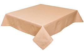Скатерть LiMaSo 130*140 см хлопковая песочная арт.PRASEL65-140.130x140