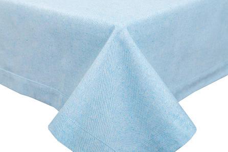 Скатертина LiMaSo 130*240 см блакитна бавовняна арт.PRASEL49-240.130x240, фото 2