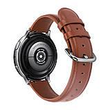 Ремешок для Amazfit BIP | Bip Lite | GTS | Gtr 42mm кожаный 20мм размер L Коричневый BeWatch (1220106), фото 3